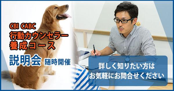 動物行動カウンセラー養成コース
